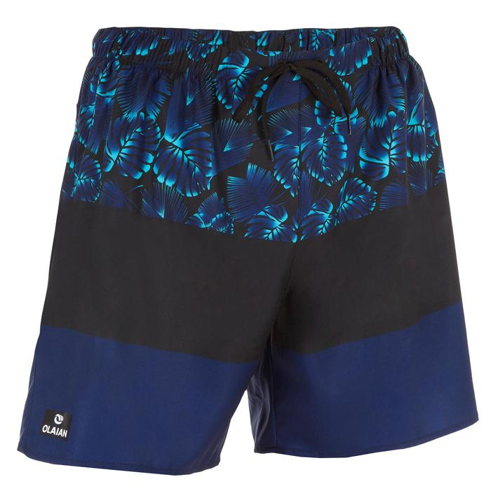 Surf boardshort court 100 Square Blue - 1298447