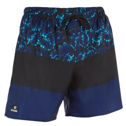 100 short surfing boardshorts Blue stripes