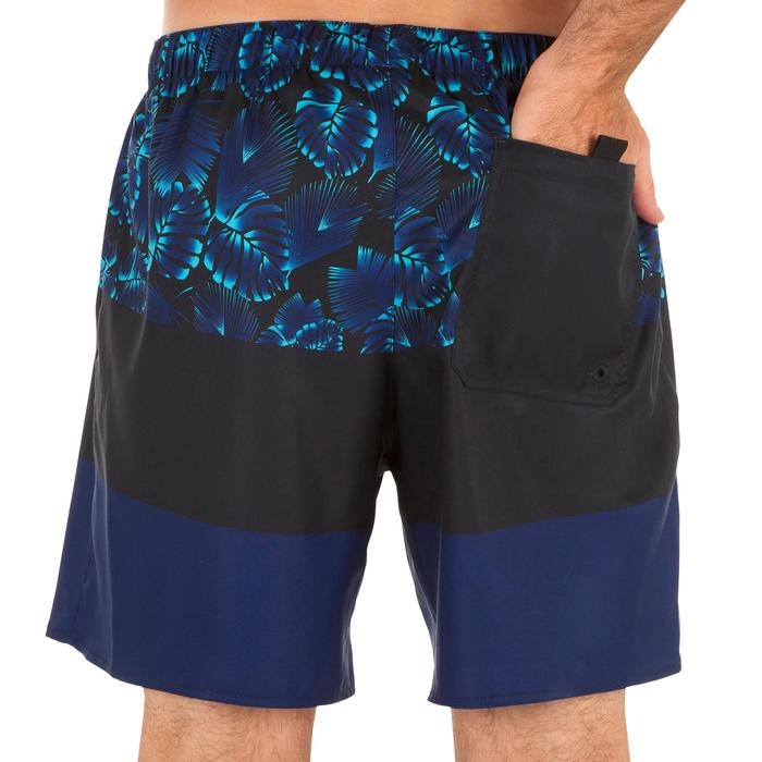 Surf boardshort court 100 Square Blue - 1298449