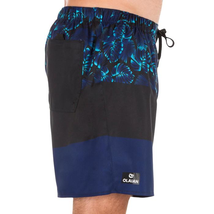 Surf boardshort court 100 Square Blue - 1298450
