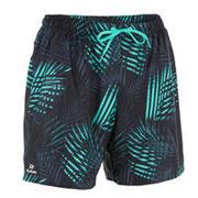 Plavalne kratke hlače s potiskom palme 100
