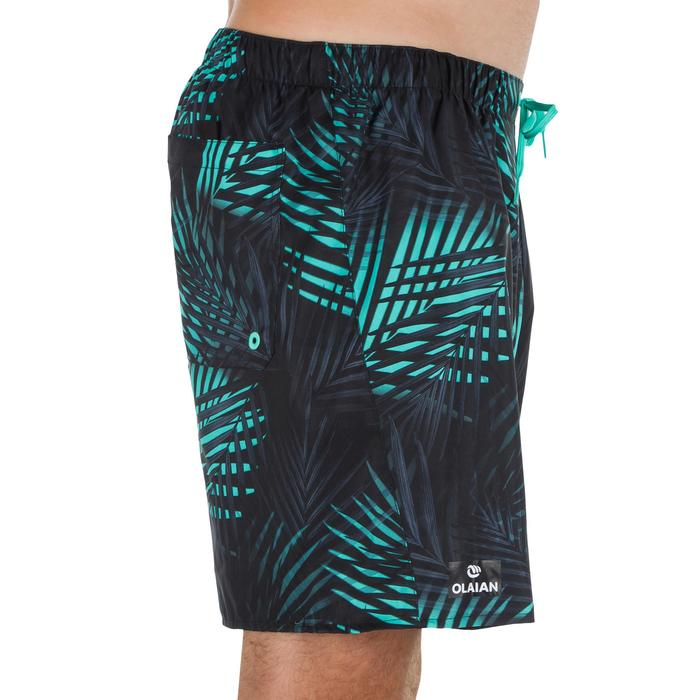 Surf boardshort court 100 Square Blue - 1298465