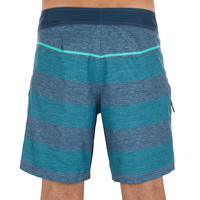 500 Short Surfing Boardshorts - Blue Lines
