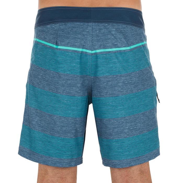 Kurze Boardshorts Surfen 500 Lines Herren blau