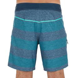 Surf boardshort court 500 Lines Blue