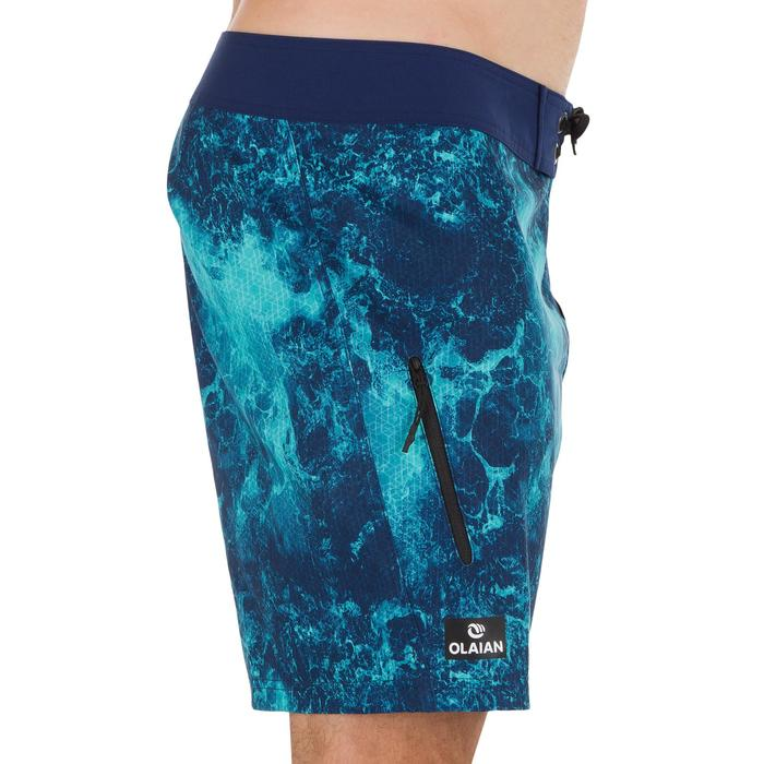 Surf boardshort court 500 Uni Full Black - 1298496