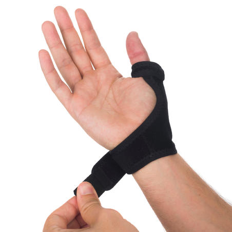 Strong 700 Men's/Women's Left/Right Thumb Support - Black