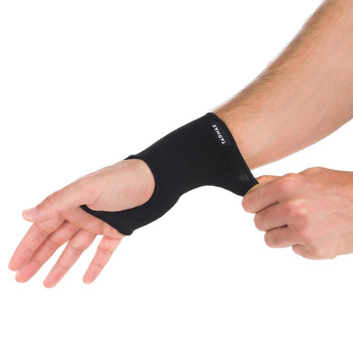 Maintien de poignet compressif gauche/droite pour homme/femme SOFT 100 noir
