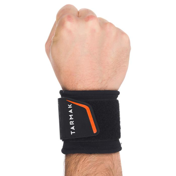 Mid 300 Adult Supportive Wrist Strap - Black