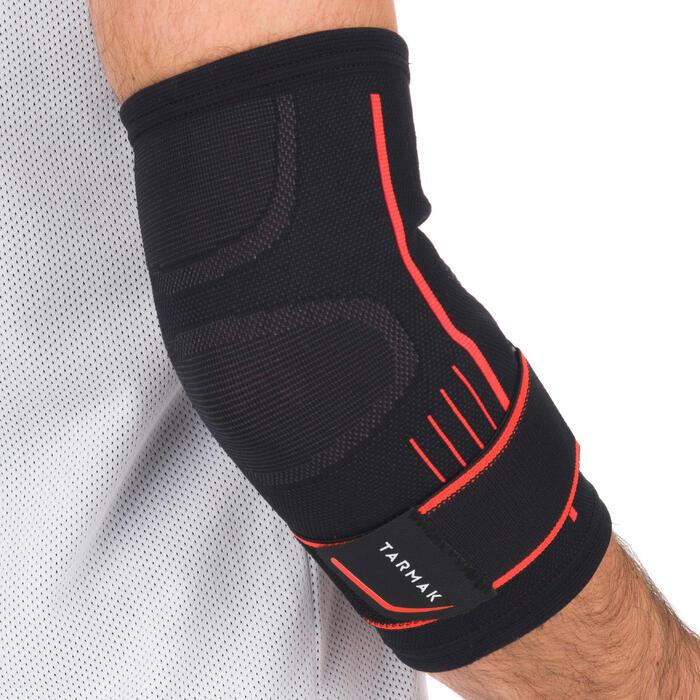 右手/左手護肘Soft 500(男女通用)-黑色