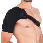 Men's/Women's Left/Right Shoulder Support Mid 500 - Black