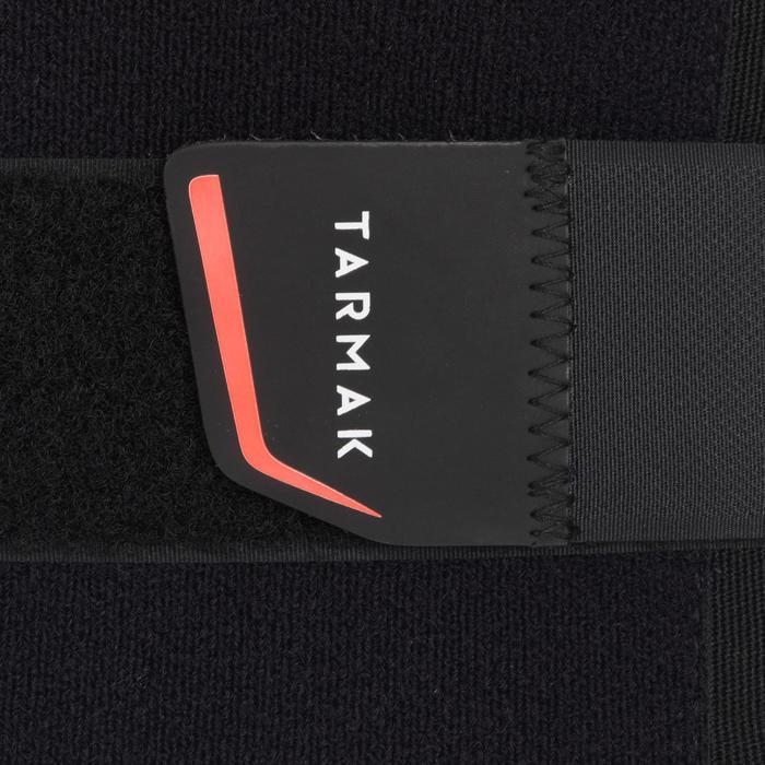 Cinturón lumbar de sujeción para hombre/mujer MID 500 negro