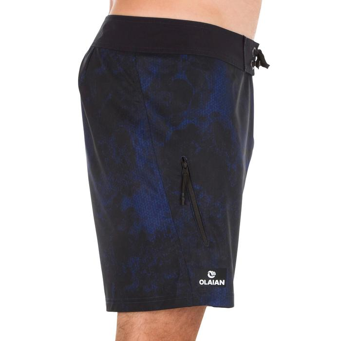 Surf boardshort court 500 Uni Full Black - 1298646