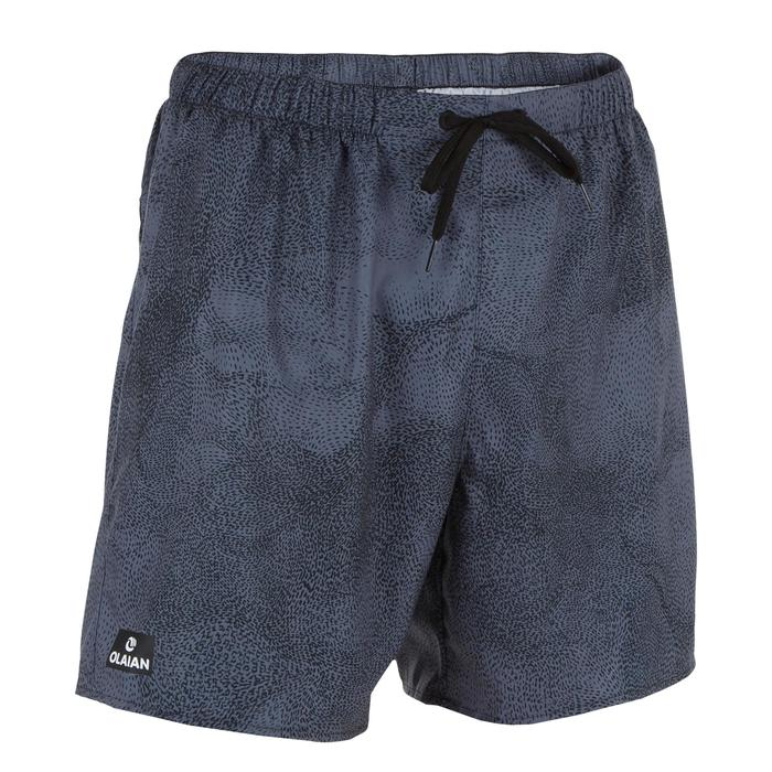 Surf boardshort court 100 Square Blue - 1298647