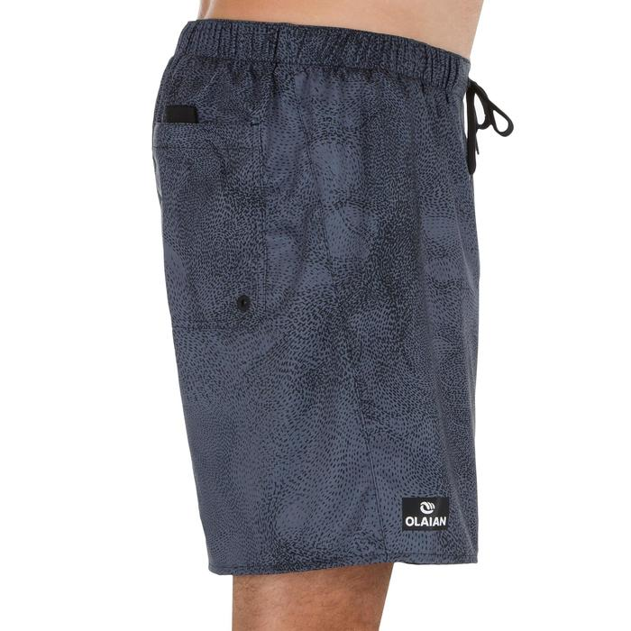 Surf boardshort court 100 Square Blue - 1298650
