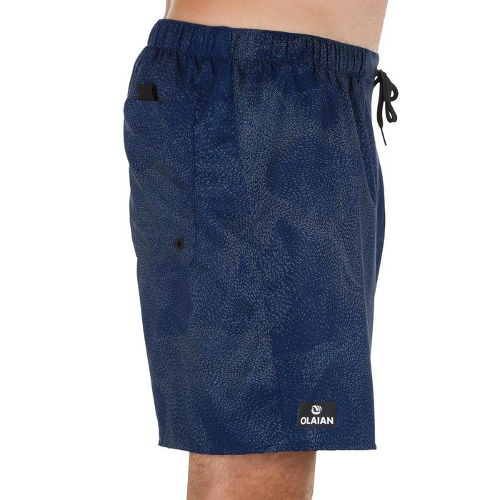 Surf boardshort court 100 Square Blue - 1298655