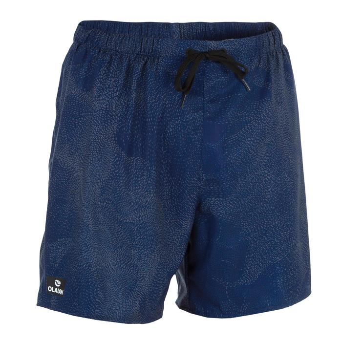 Bañador Surf Boardshort corto Olaian 100 coral hombre azul