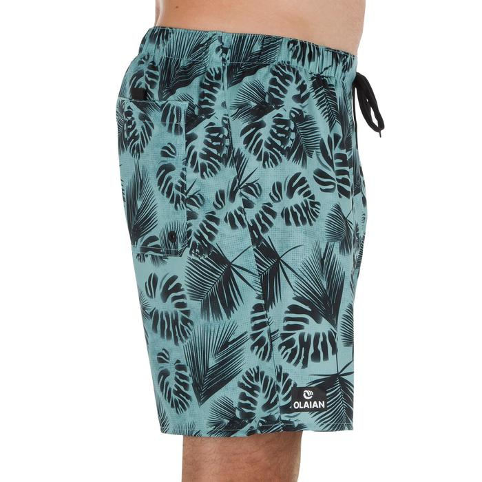 Surf boardshort court 100 Square Blue - 1298664
