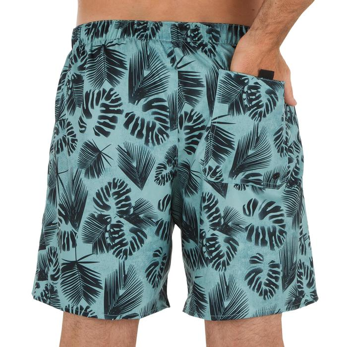 Surf boardshort court 100 Square Blue - 1298665