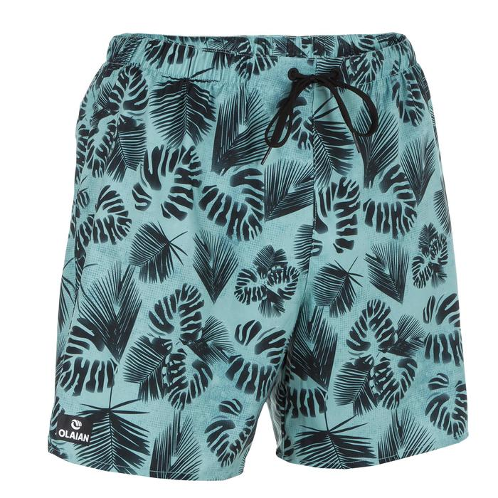 Surf boardshort court 100 Square Blue - 1298666