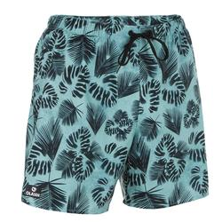 Surf boardshort court 100 Flower Kaki