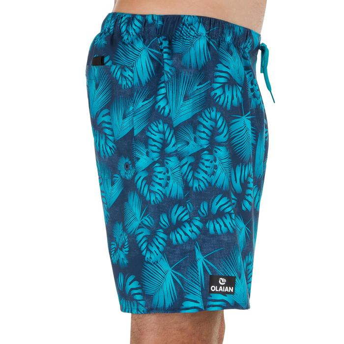 Surf boardshort court 100 Flower Grey