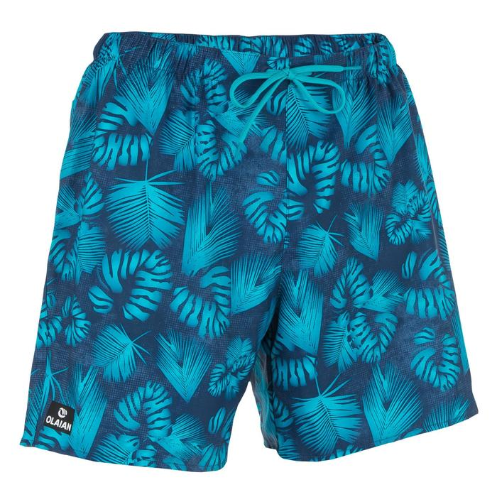 Surf boardshort court 100 Square Blue - 1298672