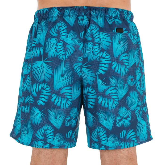 Surf boardshort court 100 Square Blue - 1298673