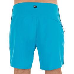 Boardshort Homme Quiksilver stretch bleu 16'
