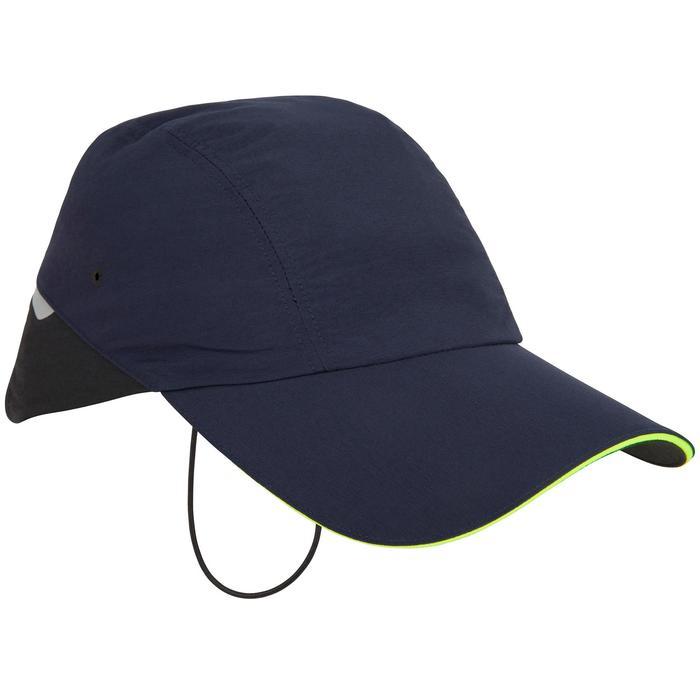 成人款航海帽子Race 500-藍色
