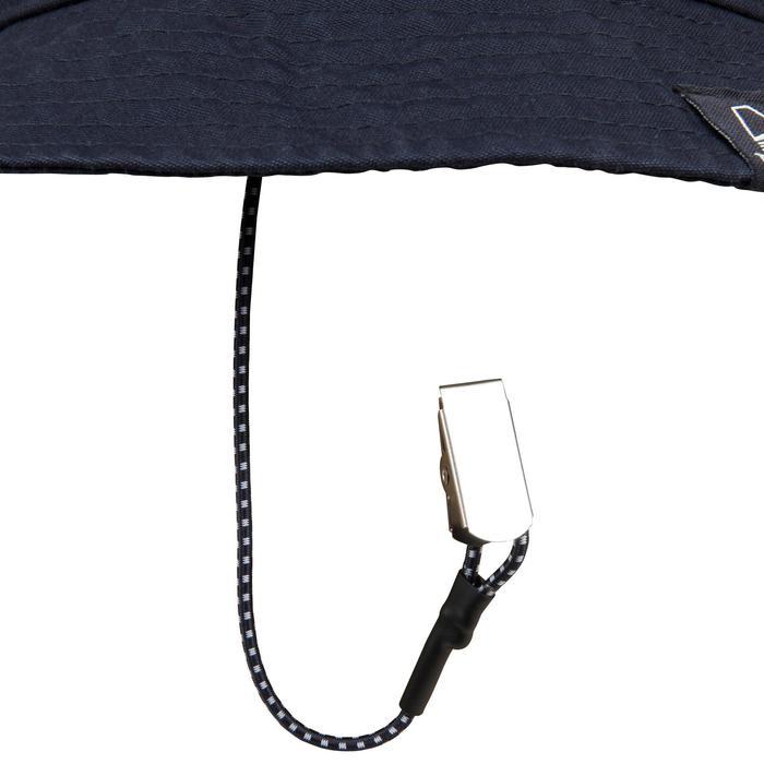 成人款航海遮陽帽-深藍色