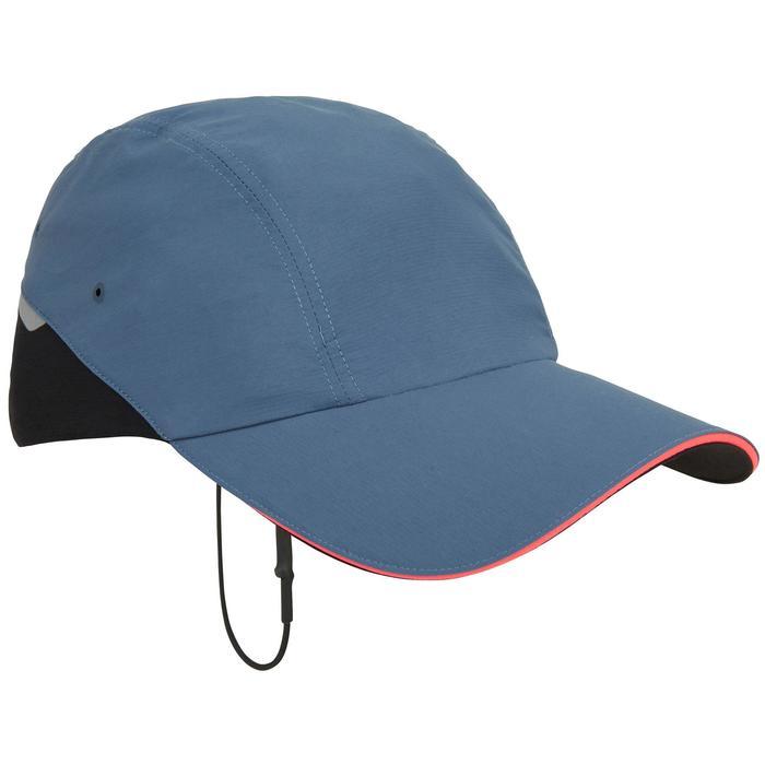 Segelcap Race Erwachsene blau/grau