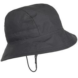 Waterdicht hoedje Cruise voor volwassenen, zeilen, donkergrijs
