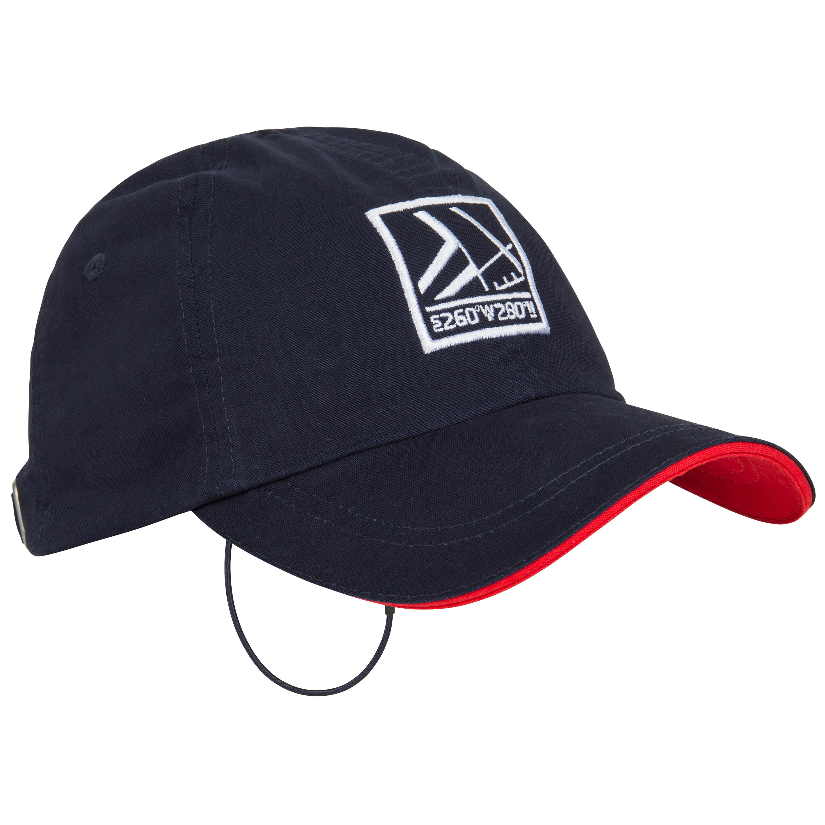 Cotton Adult Sailing Cap - Navy Blue