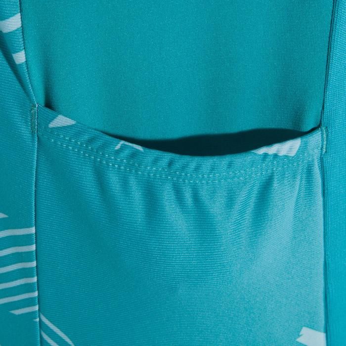 Camiseta sin mangas BTT ST 500 azul turquesa