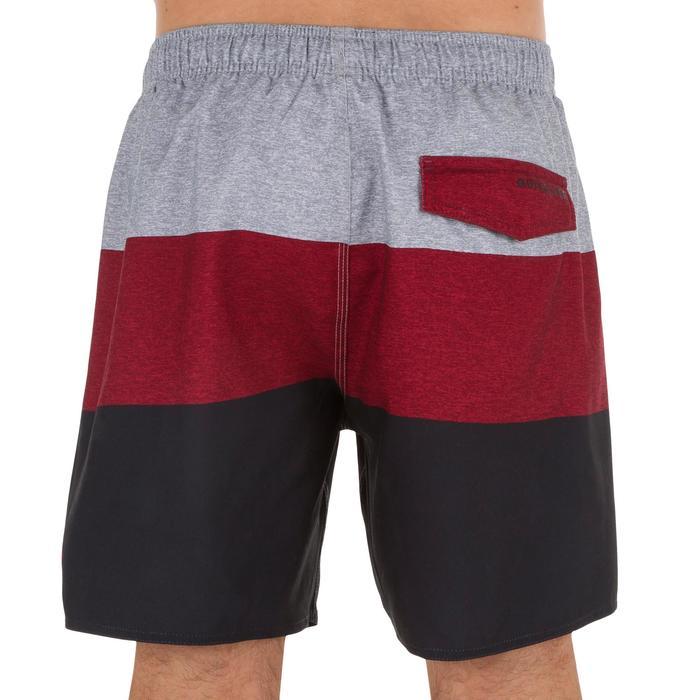 Boardshort Homme BLOCK rouge - 1298778