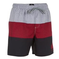 Heren boardshort Block rood