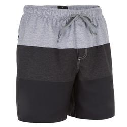Heren boardshort Block zwart