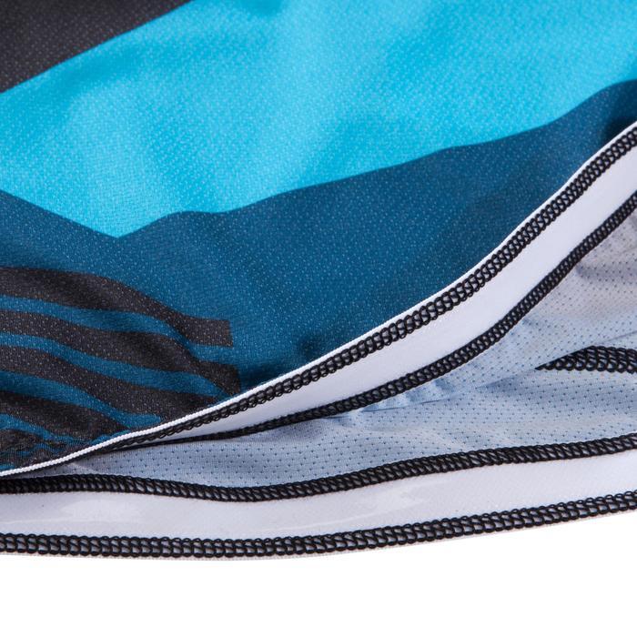 Maillot VTT ST 500 Homme Bleu-bleu turquoise