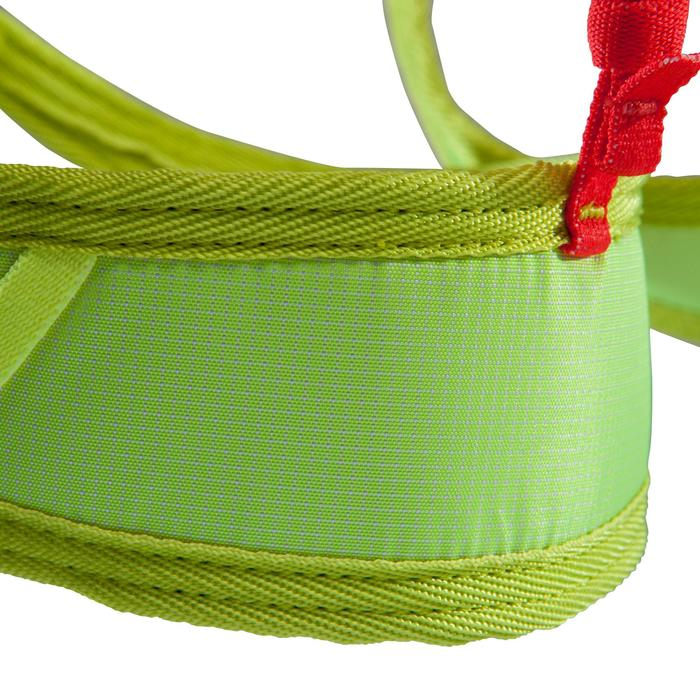 EDGE ADULT CLIMBING AND MOUNTAINEERING HARNESS ORANGE AND YELLOW