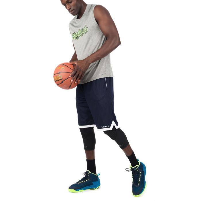 Basketballtrikot Fast Cleveland Herren Fortgeschrittene grau/grün