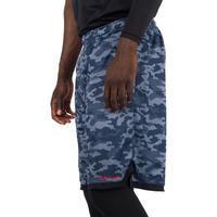 SH500R Intermediate Reversible Basketball Shorts - Black/Grey Camo