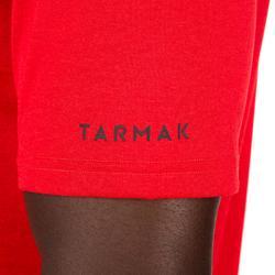 TEE SHIRT DE BASKETBALL HOMME DEBUTANT/ CONFIRME FAST TARMAK HOOP ROUGE