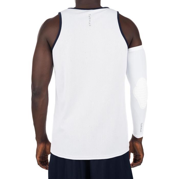 Mens' Intermediate Reversible Basketball Tank Top - White/Blue - 1298933