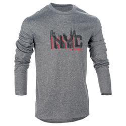 Basketballshirt langarm Fast NYC Herren Fortgeschrittene