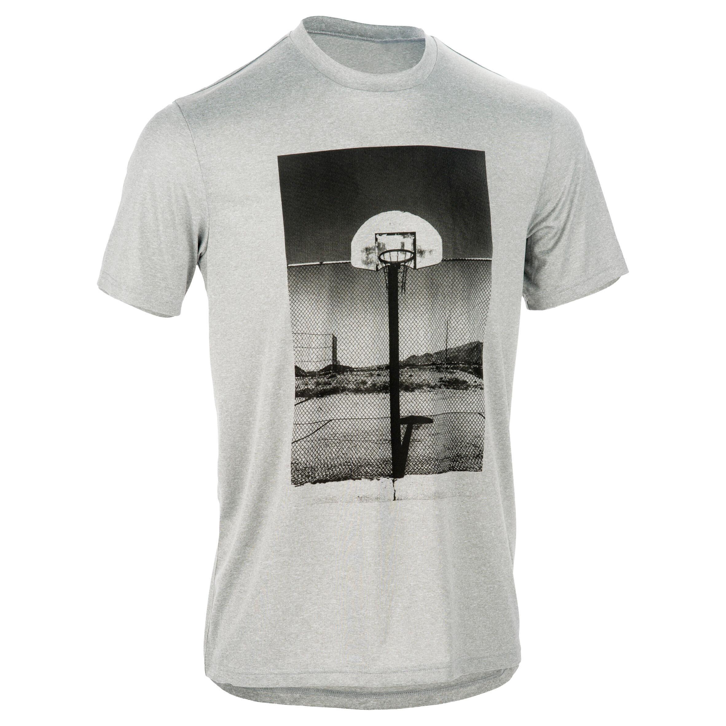 Tarmak Basketbal T-shirt Fast Playground