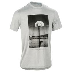 Basketballshirt Fast Photo Herren Fortgeschrittene grau