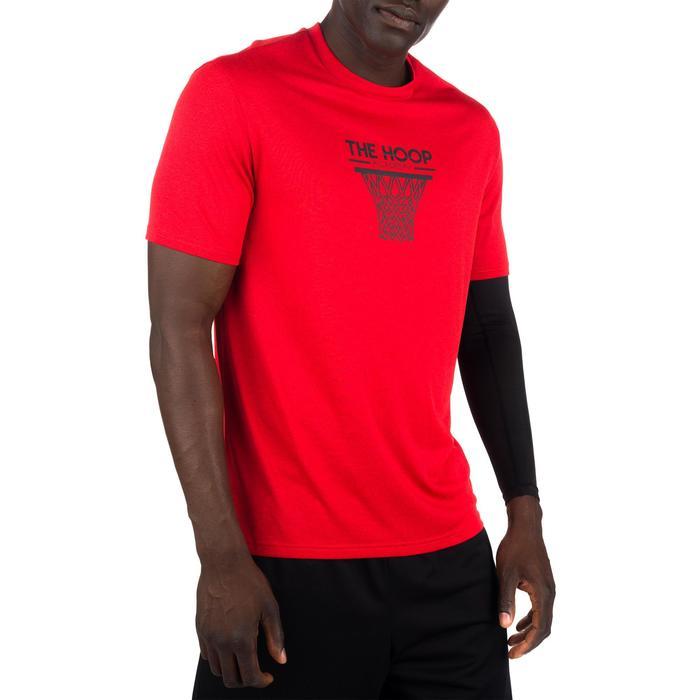 Basketballshirt Fast Hoop Fortgeschrittene Herren Fast Hoop rot