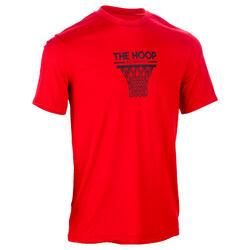 Basketbal T-shirt voor halfgevorderde heren Fast Cleveland