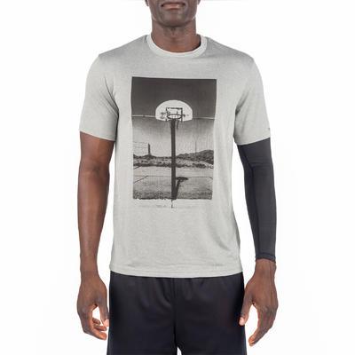 Fast Photo Intermediate Basketball T-Shirt - Grey
